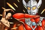 衝撃の光獣-輝きの翼竜 ウルトラマンタロウ×背徳ルシファーDK